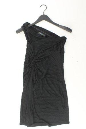 One-Shoulder-Kleid Größe 36/38 gestreift Träger schwarz