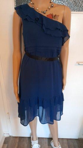 Orsay Sukienka na jedno ramię niebieski-ciemnoniebieski
