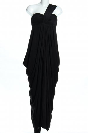 One Shoulder Dress black elegant