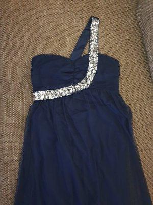 Bodyflirt Vestido de un hombro azul