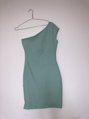 Zara One Shoulder Dress mint