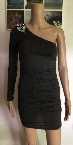 Tally Weijl One Shoulder Dress anthracite