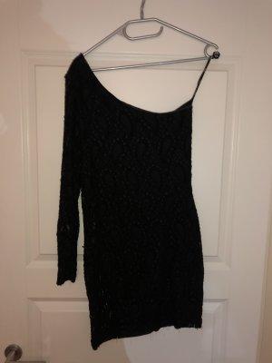 One shoulder sexy Spitzen Kleid