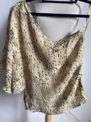 Hennes Collection by H&M One Shoulder Top cream