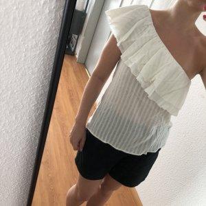 Pepe Jeans Top monospalla bianco-bianco sporco