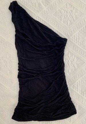 H&M Top monospalla nero