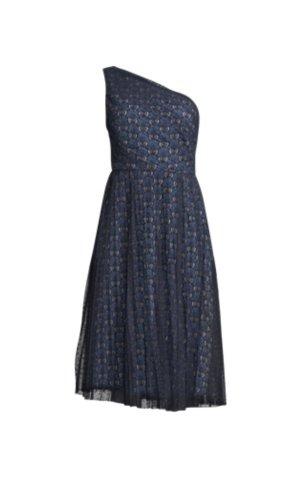 Lawrence Grey Sukienka na jedno ramię czarny-niebieski
