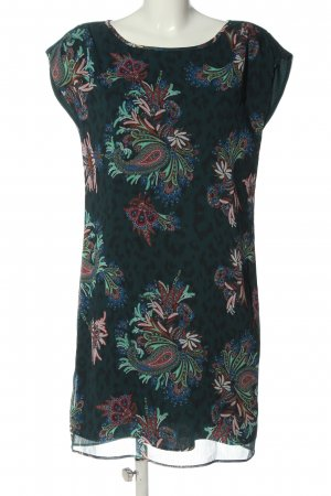 One step Mini Dress allover print casual look