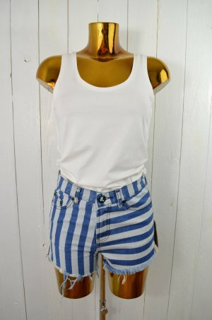 ONE TEASPOON Damen Shorts Jeansshorts Mod.Romeo's col.Dark Indigo-Stripes Gr.36