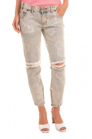 One teaspoon Jeans 7/8 bleu clair coton