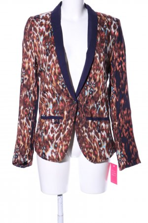 One teaspoon Blazer in jersey motivo astratto stile casual
