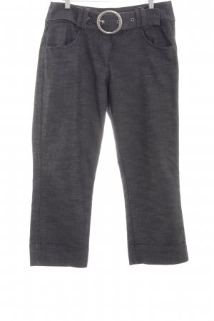 One Touch 7/8-Hose hellgrau Allover-Druck Casual-Look