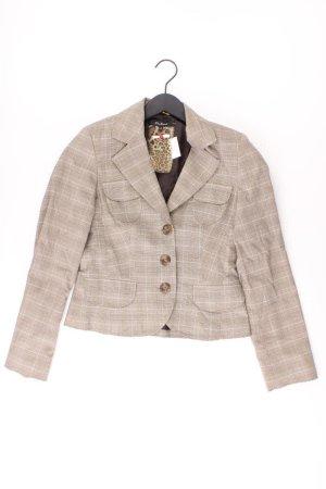 one touch Blazer Größe 36 braun aus Polyester