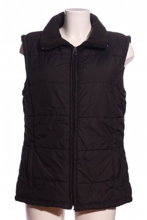 One Touch Down Vest brown quilting pattern casual look