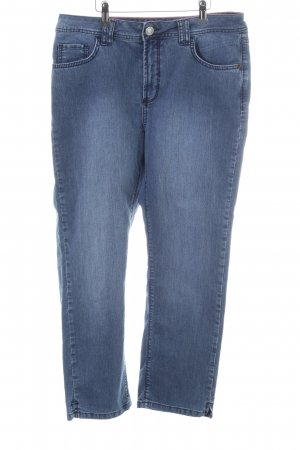 One Touch Hoge taille jeans blauw Jeans-look