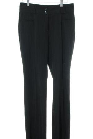 One Touch pantalón de cintura baja negro estilo «business»