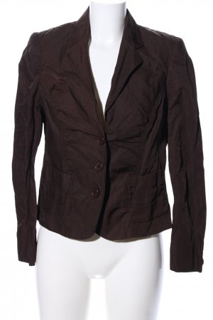 One Touch Kurz-Blazer braun Casual-Look