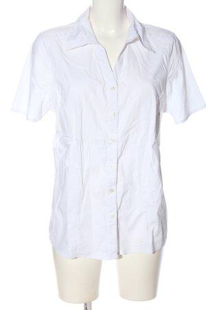 One Touch Camicia a maniche corte bianco stile casual