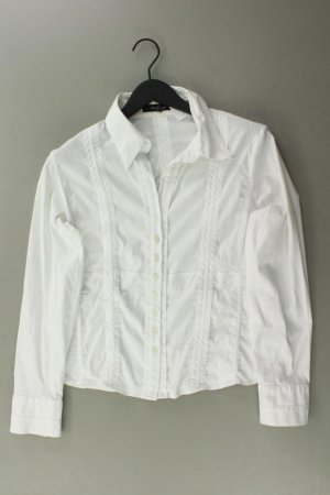 One Touch Long Sleeve Blouse natural white cotton