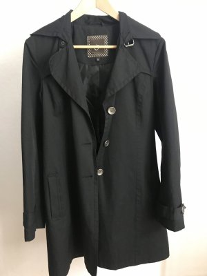 One Touch Manteau court noir