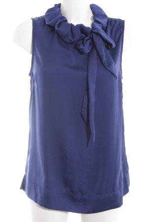 One Touch Schlupf-Bluse blau Elegant