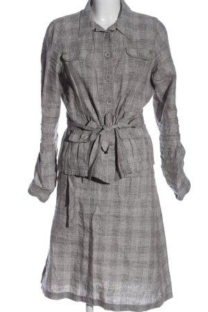 One Touch Ensemble en tricot gris clair imprimé allover style décontracté
