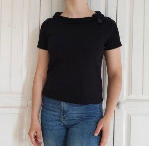 One Touch Top T-Shirt M 38 TShirt shirt Schwarz oberteil Bluse Hemd tanktop croptop pulli pullover