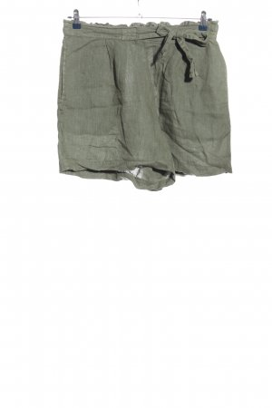One Two Luxzuz High-Waist-Shorts khaki Casual-Look