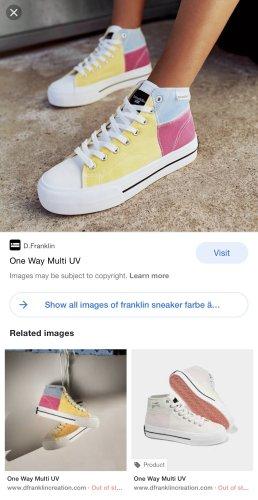 One way UV - sneaker D.Franklin