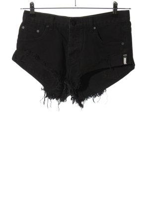 One x Oneteaspoon Hot Pants schwarz Casual-Look