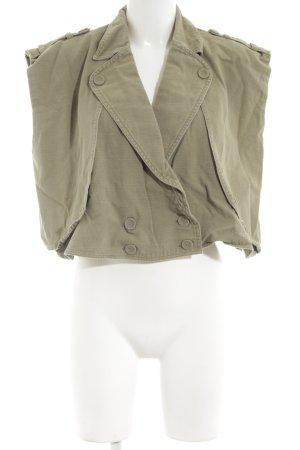 One x Oneteaspoon Jeansweste khaki Casual-Look