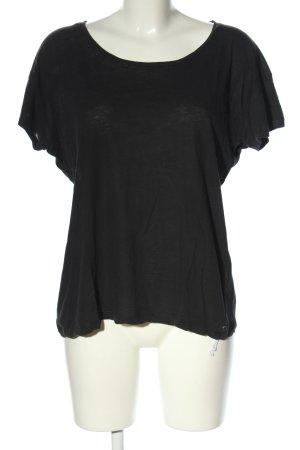 One x Oneteaspoon T-Shirt schwarz Casual-Look