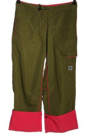 ONEILL 7/8-Hose khaki-pink Motivdruck Casual-Look