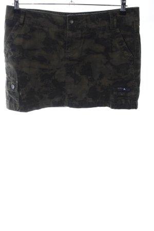 ONEILL Cargorock khaki-schwarz Camouflagemuster Casual-Look