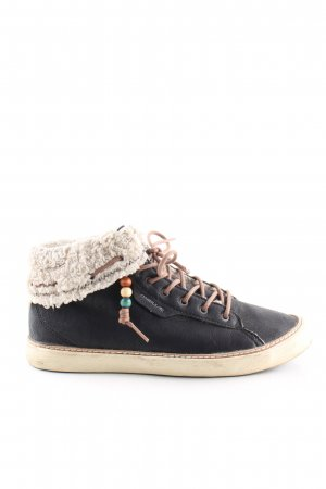ONEILL High Top Sneaker black-natural white casual look