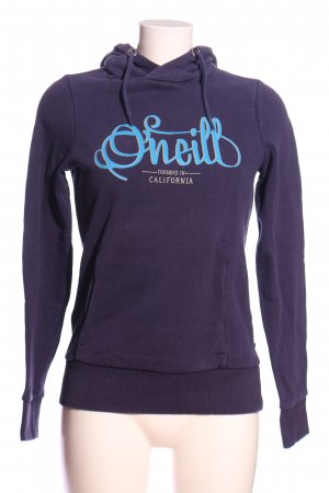 ONEILL Hooded Sweatshirt lilac-blue printed lettering casual look