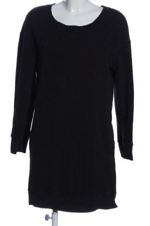 ONEILL Mini vestido negro punto trenzado look casual