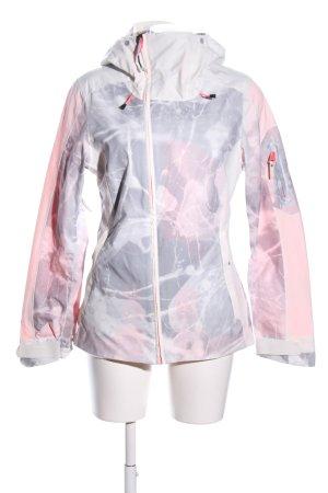 ONEILL Outdoorjacke pink-hellgrau abstraktes Muster Casual-Look