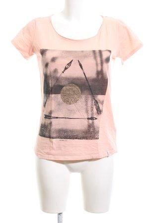ONEILL Print-Shirt nude Motivdruck Casual-Look