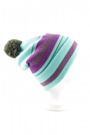 ONEILL Bobble Hat striped pattern casual look