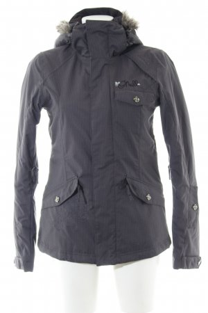 ONEILL Raincoat light grey check pattern casual look