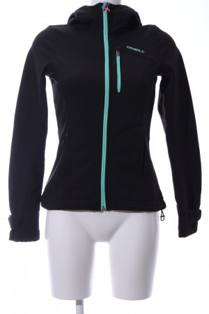 ONEILL Giacca softshell nero-turchese stile casual