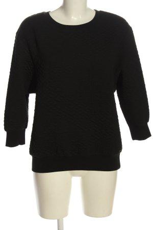 ONEILL Sweatshirt schwarz Steppmuster Casual-Look