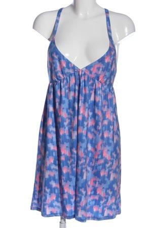 ONEILL Trägerkleid blau-pink abstraktes Muster Casual-Look