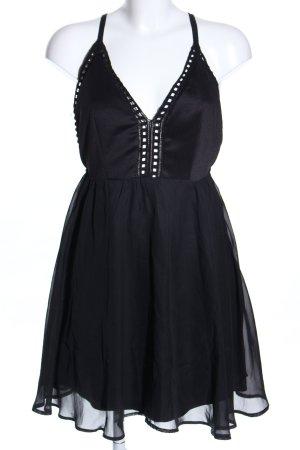 Oneness Cocktailkleid schwarz Elegant