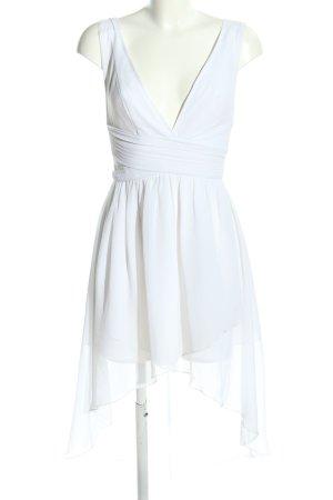 Oneness Vokuhila-Kleid weiß extravaganter Stil