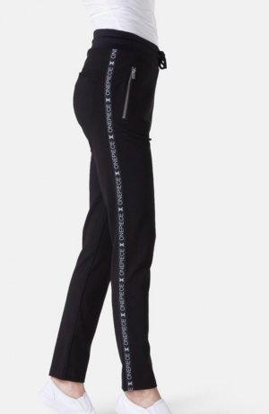 Onepiece Pantalone fitness nero caratteri stampati stile casual