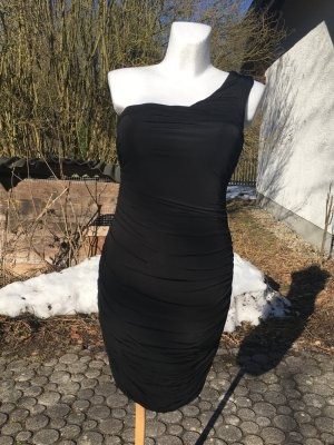 H&M One Shoulder Dress black