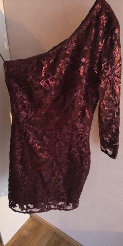 H&M Vestido de lentejuelas multicolor