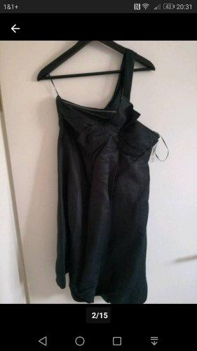 Oneshoulder Mango Kleid mit Schleife Gr.M
